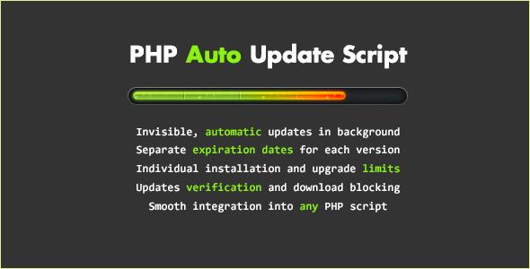 PHP Auto Update Script